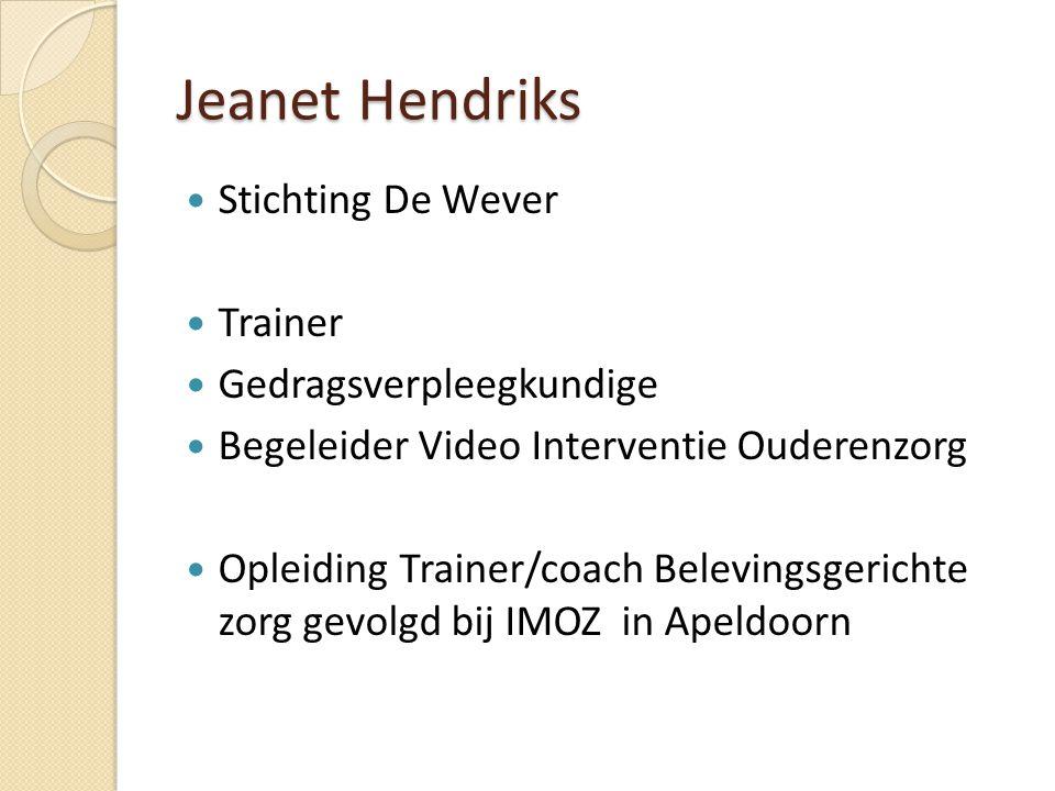 IMOZ Zingevingsmodel ( vereenvoudigd ) Contact Methodiek Medewerker Bewoner
