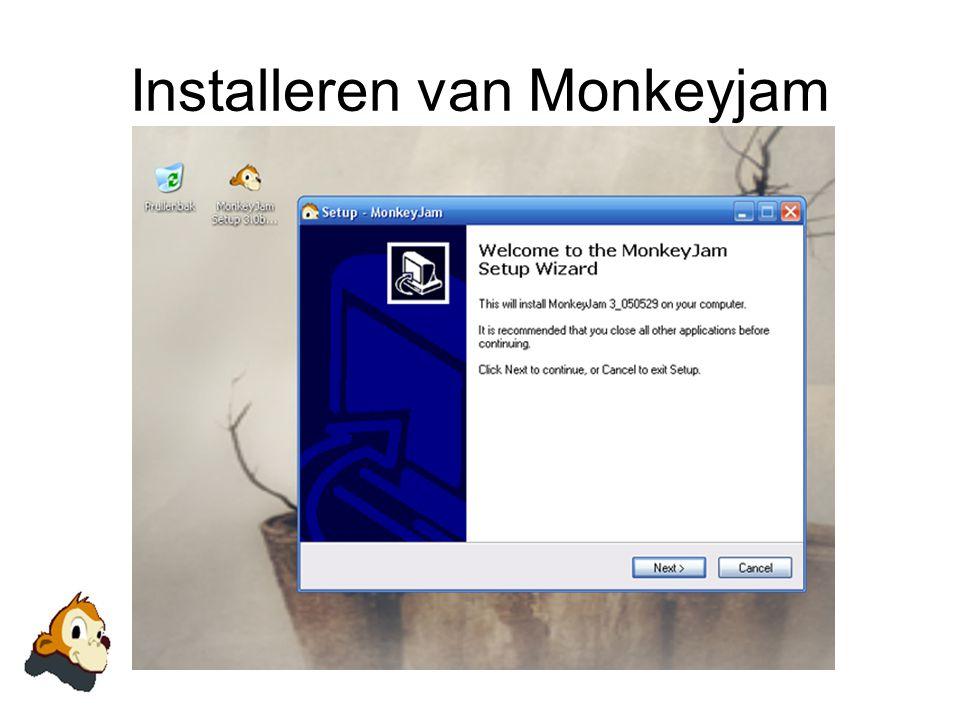 Installeren van Monkeyjam