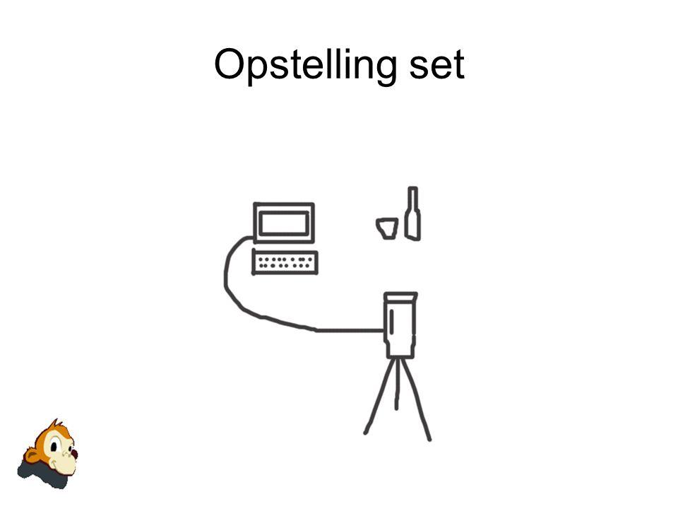 Werkwijze Monkeyjam •Download programma •Installeren •Sluit camera aan op pc •Start programma op