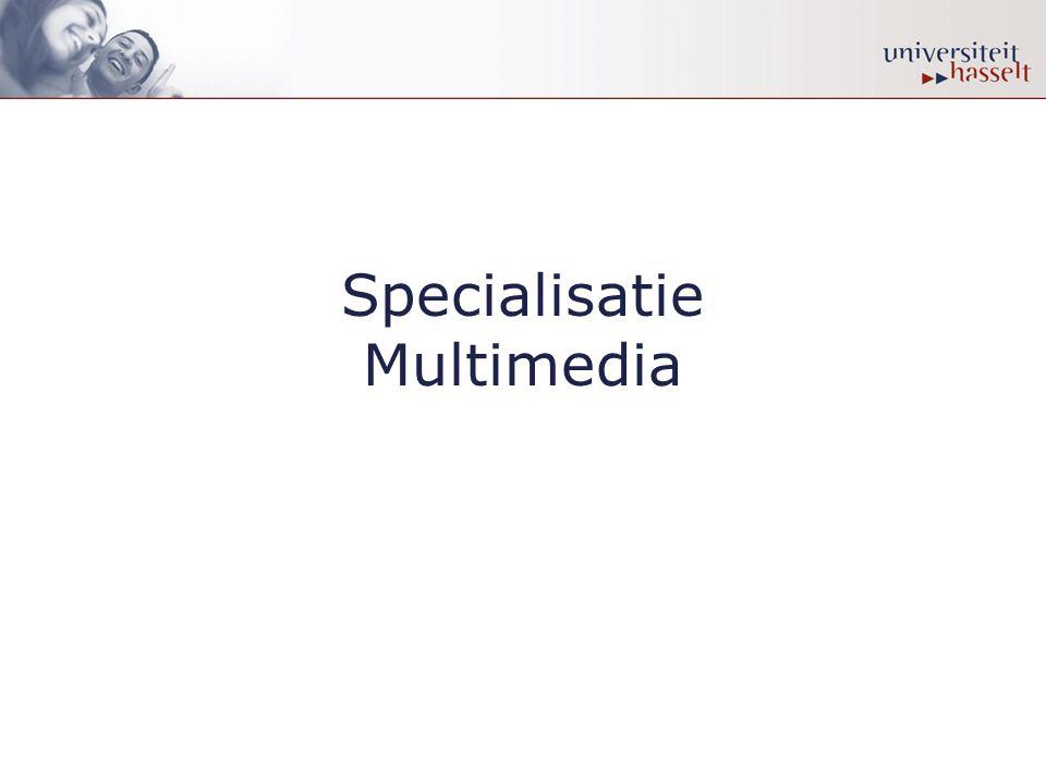 Specialisatie Multimedia