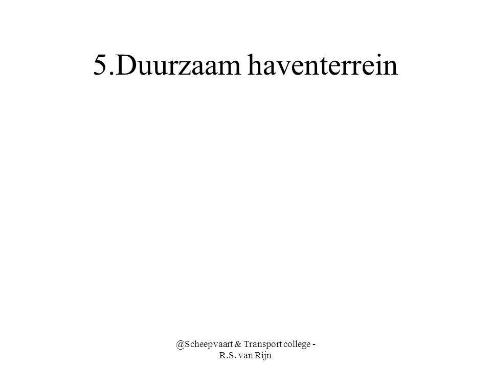 5.Duurzaam haventerrein