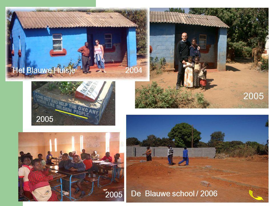 2005 Het Blauwe Huisje 2004 2005 De Blauwe school / 2006 2005