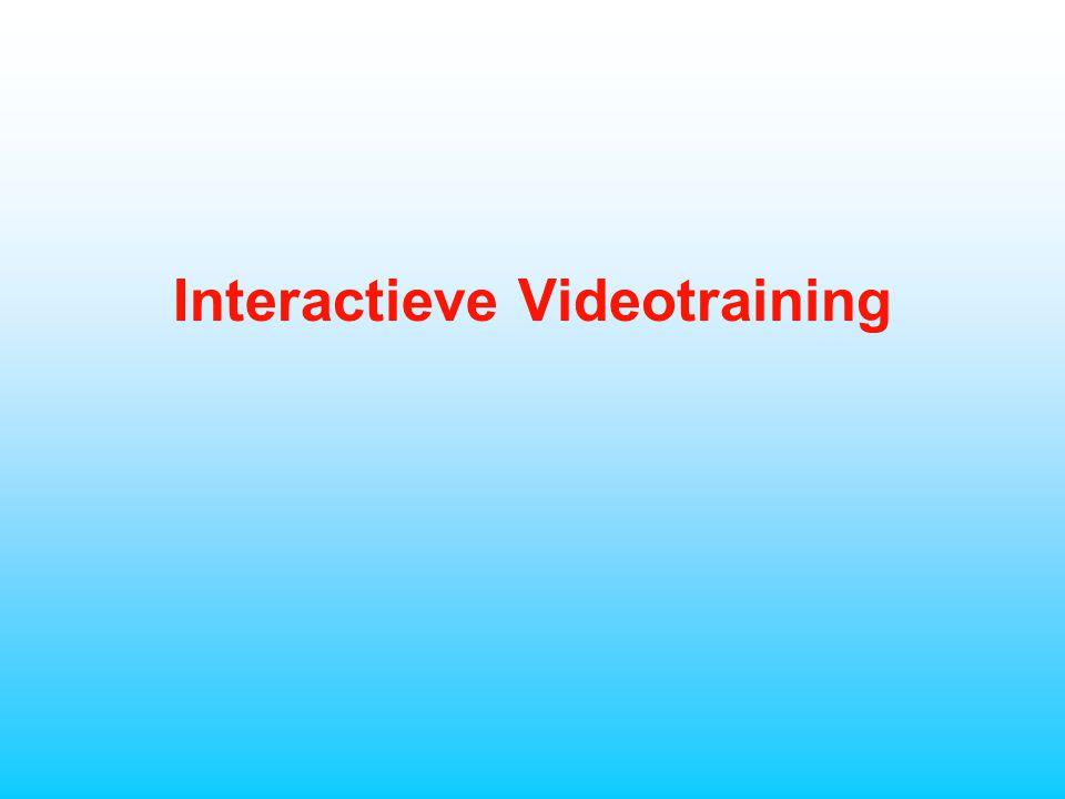 Interactieve Videotraining