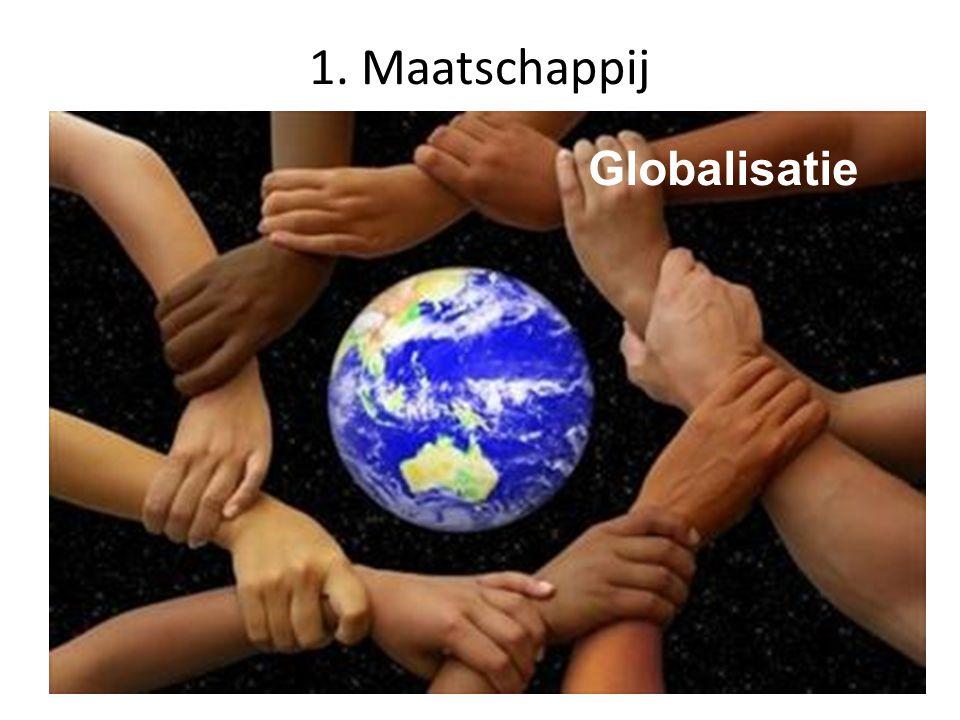 1. Maatschappij Globalisatie