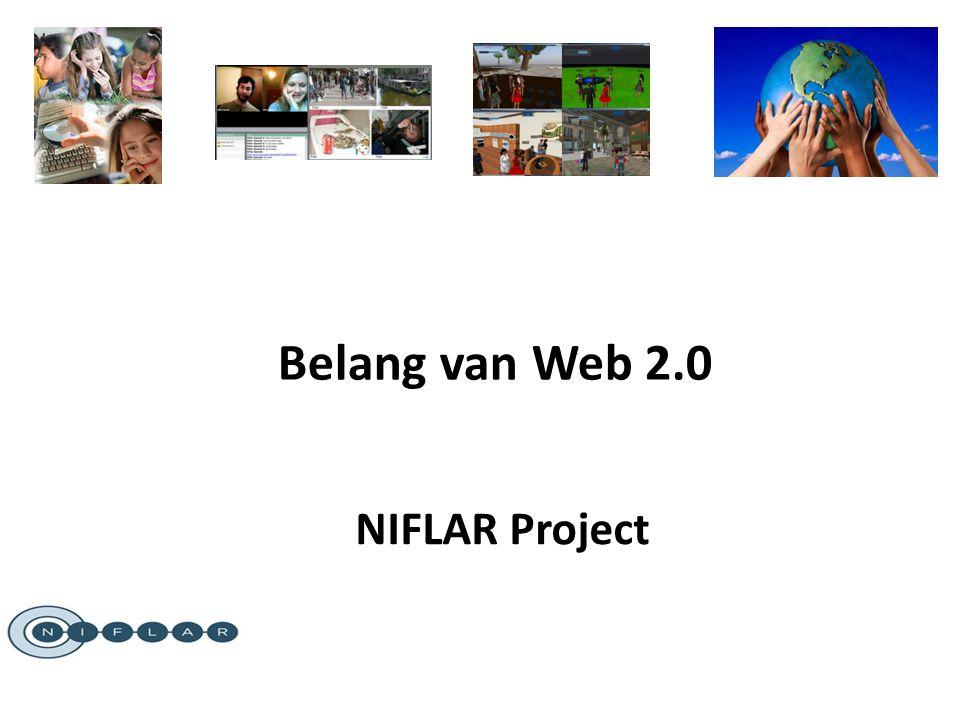 NIFLAR Project Belang van Web 2.0