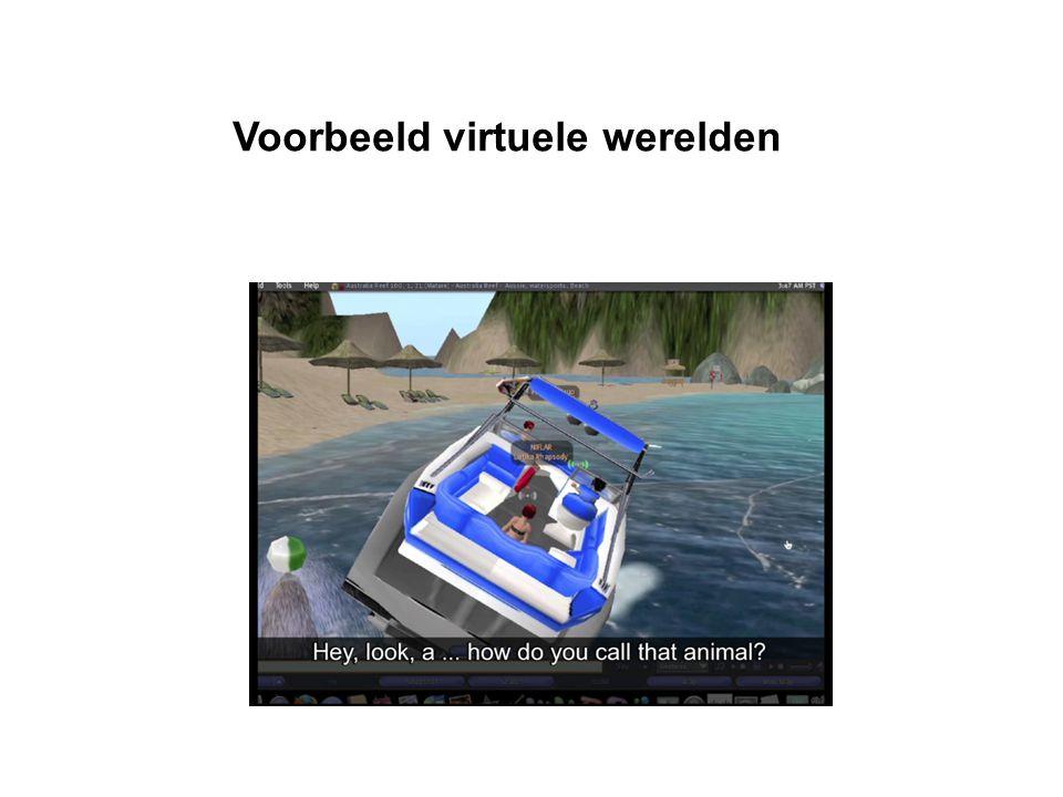 Voorbeeld virtuele werelden
