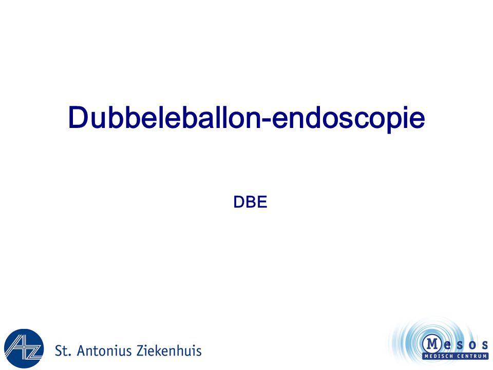 1 Dubbeleballon-endoscopie DBE