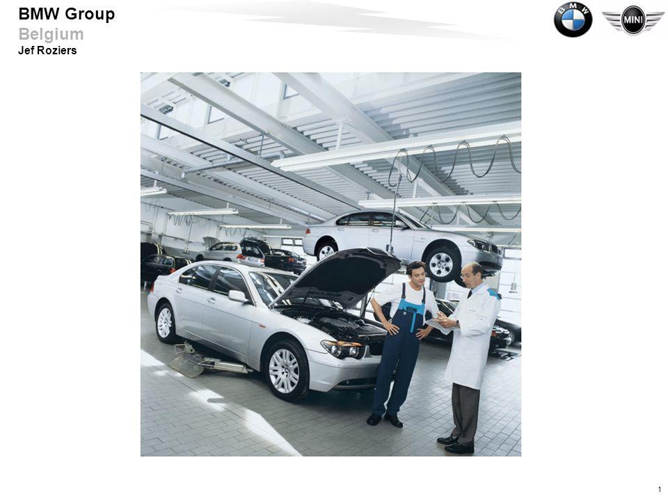 2 BMW Group Belgium Jef Roziers •9u00Introduktie •9u15Spanningsvoorziening •9u45Bussystemen •11u00Pauze •11u15Active cruise control •13u00Middagpauze •14u00Motoroliën •15u00Pauze •15u15Motoroliën •16u45Einde Agenda