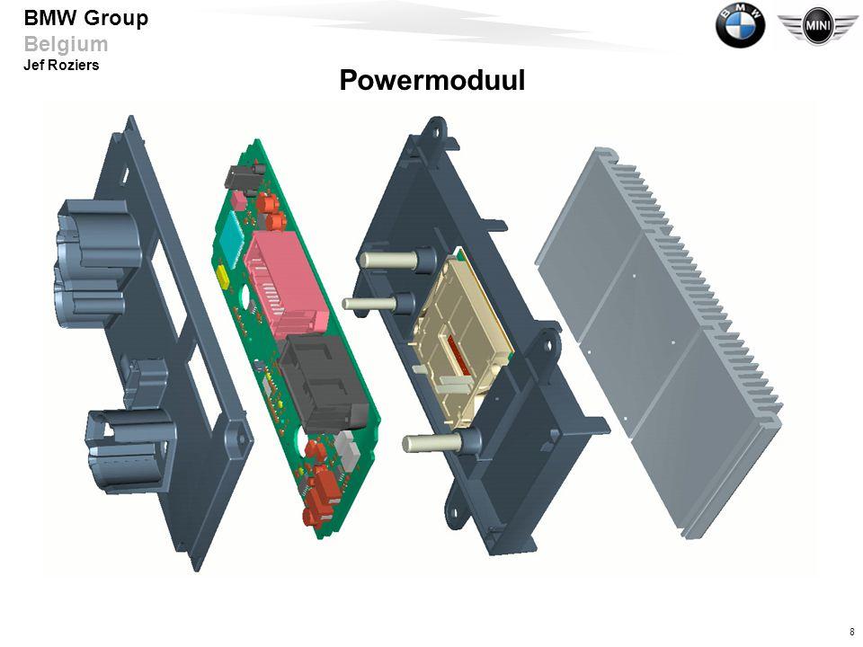 9 BMW Group Belgium Jef Roziers Inbouwplaats Power Modul