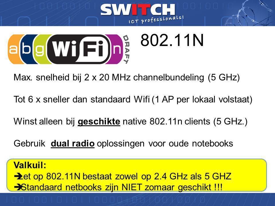 5 GHz de enige toekomst !!!