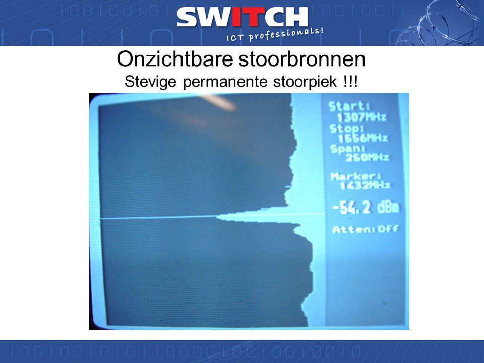 Onzichtbare stoorbronnen: De andere gebruikers Schoon radiospectrum