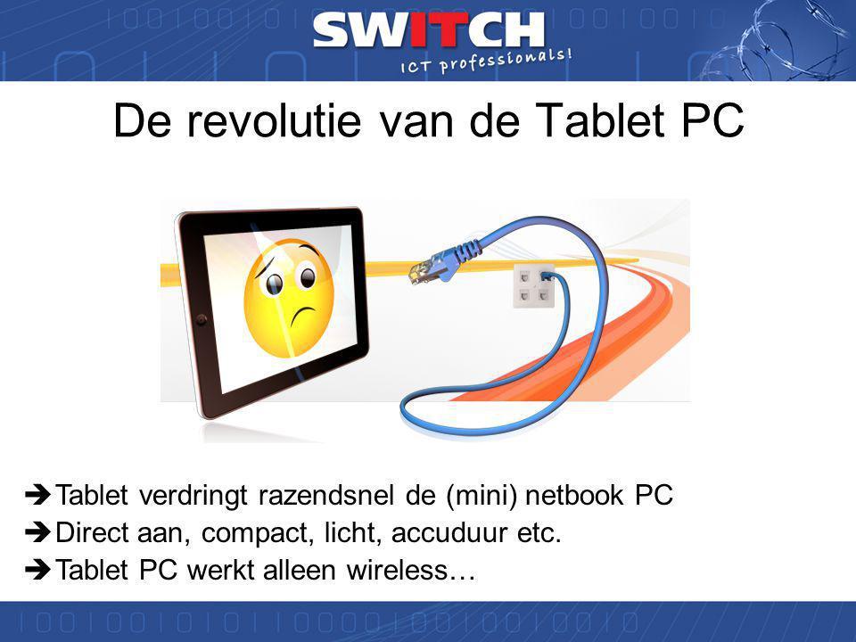 ICT ontwikkelingen •Internet applicaties worden dominant in het onderwijs •De tablet PC doet zijn intrede in het onderwijs •Dichtheid PC's steeds neemt steeds verder toe: Elke leerling een laptop.