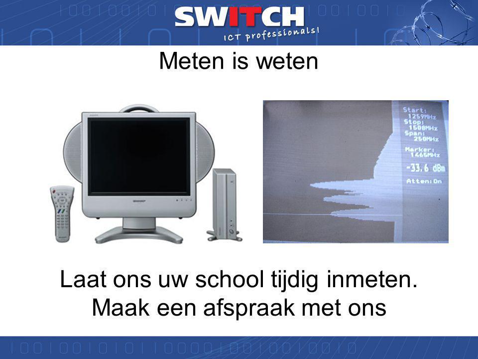 Samenvatting WIFI valkuilen •2.4 GHz systemen en interferentie in de school •Analoge video systemen •Combi-alarmmelders (Borg certificering nieuwbouw) •De magnetron in de kantine •Bouwmaterialen in de school •Beperking van max.
