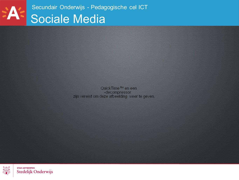 Secundair Onderwijs - Pedagogische cel ICT Sociale Media