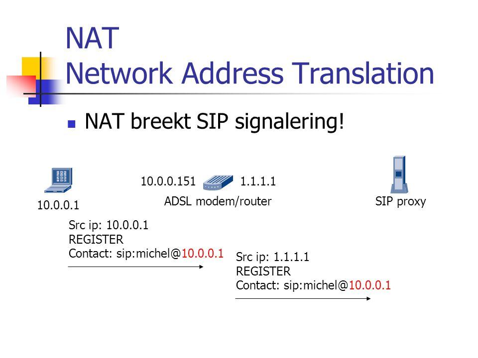 Gesprek naar het PSTN  Voor een gesprek naar het PSTN is een signaling/media gateway nodig.
