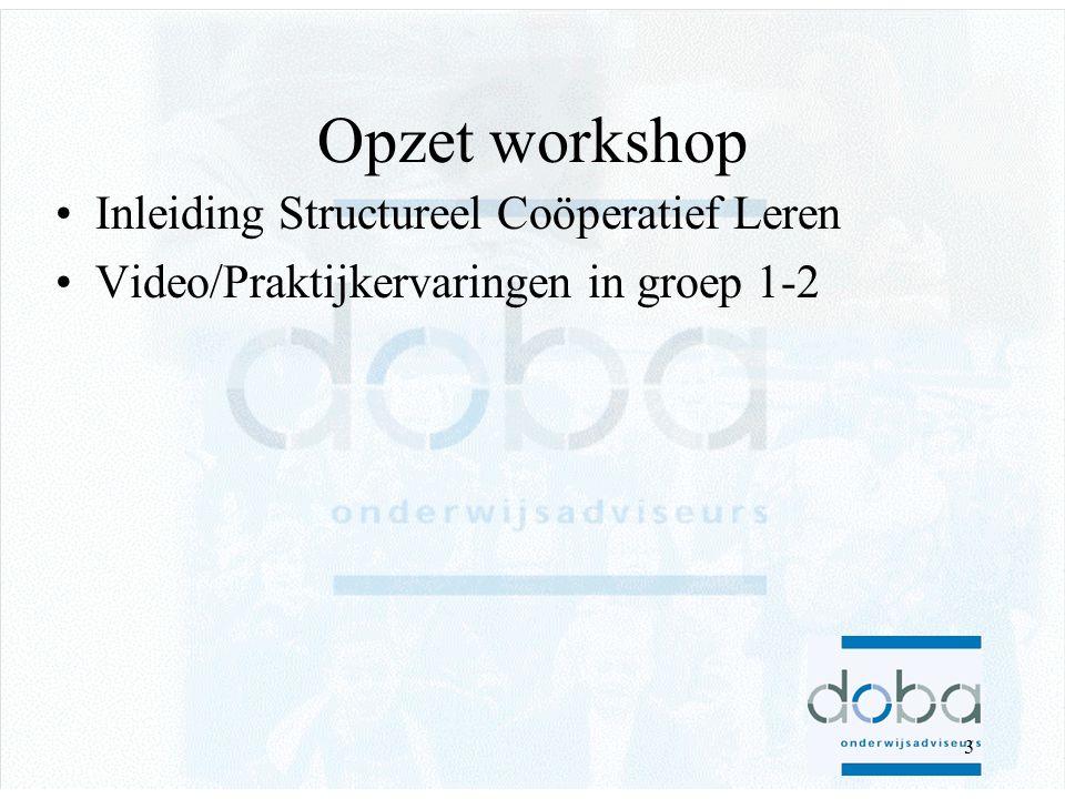 2 Even voorstellen •Désirée Rombouts –Leerkracht van Basisschool wethouder van Eupen in Eindhoven •Martijn Smoors –DOBA Onderwijsadviseurs in Eindhoven
