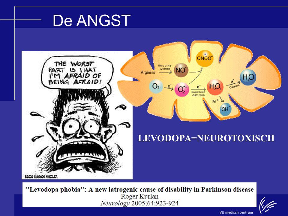 LEVODOPA=NEUROTOXISCH De ANGST
