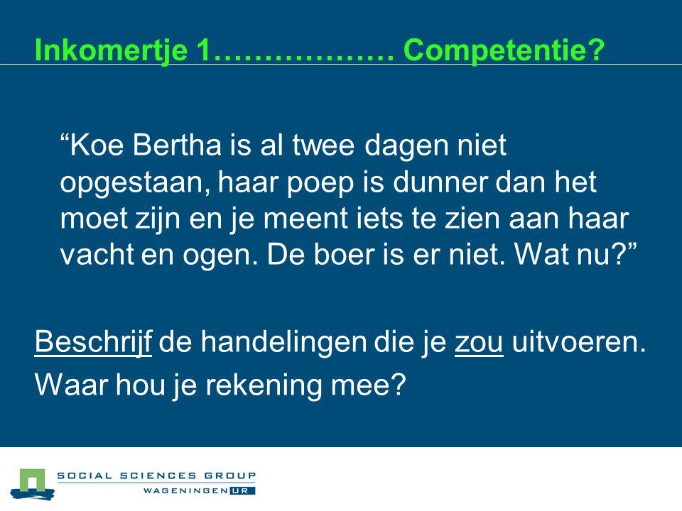 PvB/ GPO: de authentieke beoordeling Startpunt = de beroepspraktijk of maatschappelijke situatie (dus niet onderwijs!) Wat moet een leerling op dit niveau in zijn/haar stage kunnen uitvoeren.