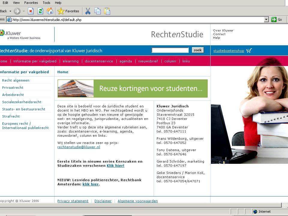 Kluwer eBooks www.kluwerebooks.nl