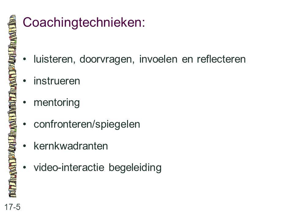 De inhoud van dit thema: 18-1 18.2Het proces van het omgaan met verschillen 18.3 Verantwoordelijkheden op verschillende niveaus 18.4 Bespreking van de zes fasen van probleemoplossing 18.5 Technieken en methoden voor het omgaan met verschillen