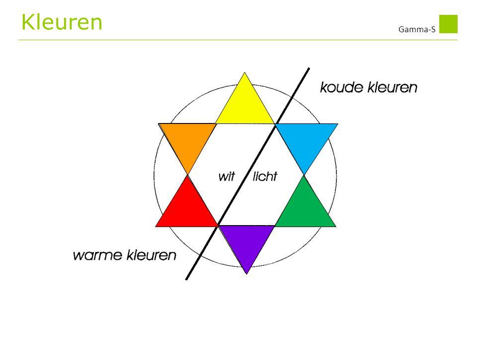 Gamma-S Kleuren