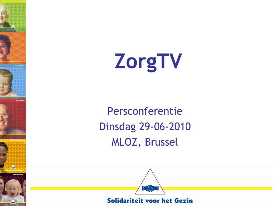 ZorgTV Persconferentie Dinsdag 29-06-2010 MLOZ, Brussel