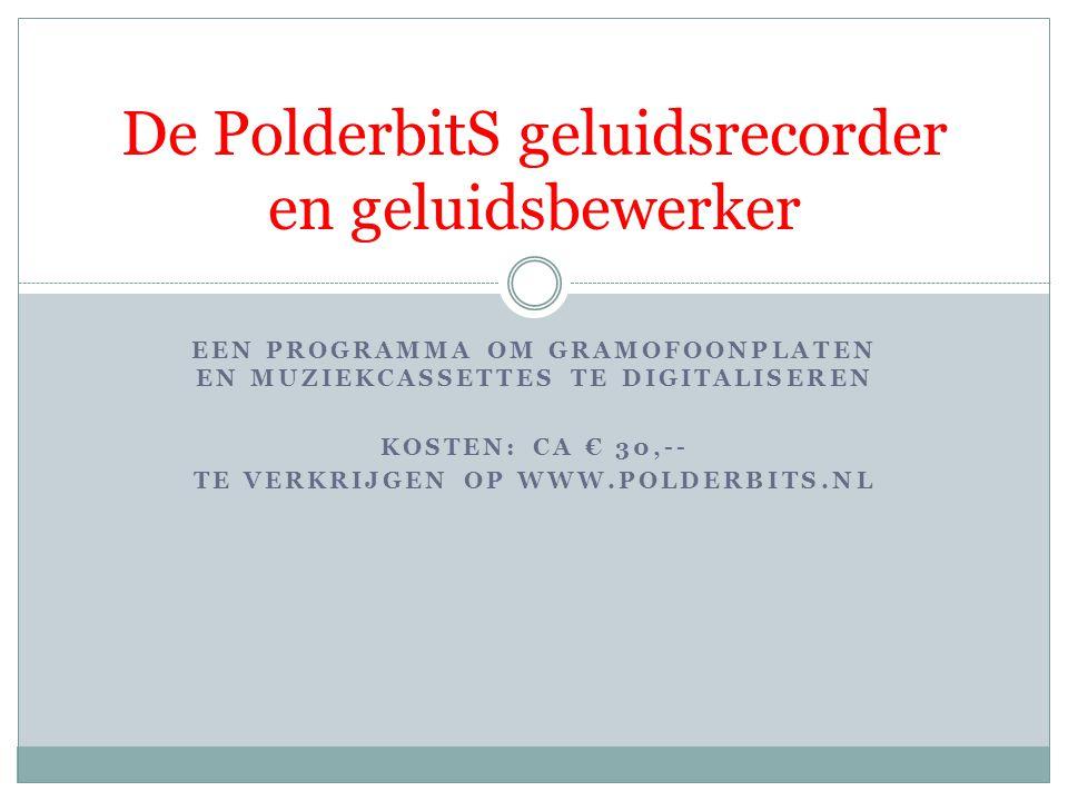 Geluidsopnamen  Digitale geluidsopnamen  Audio CD s bevatten digitale gegevens om geluid te kunnen produ- ceren.