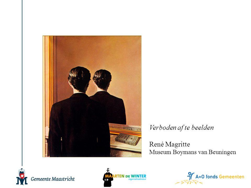 Verboden af te beelden René Magritte Museum Boymans van Beuningen