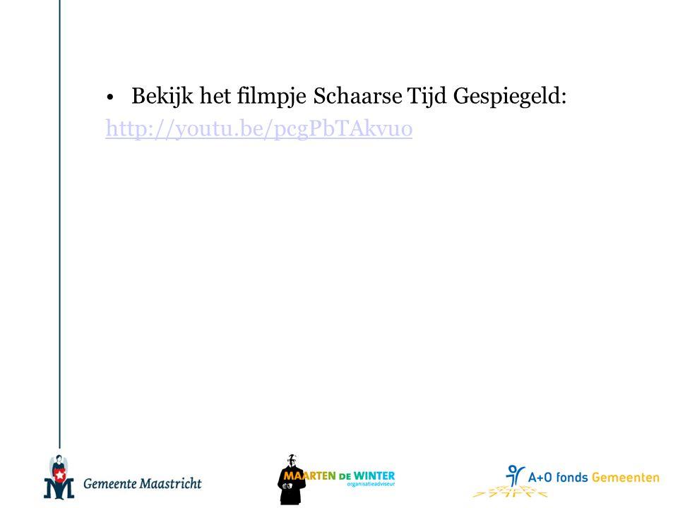 •Bekijk het filmpje Schaarse Tijd Gespiegeld: http://youtu.be/pcgPbTAkvuo