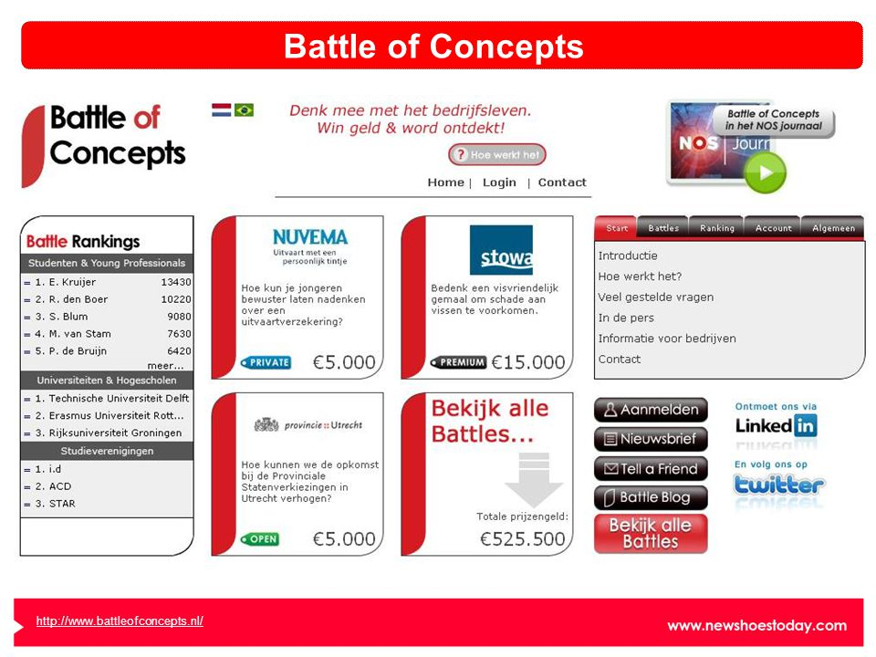 http://www.battleofconcepts.nl/ Battle of Concepts