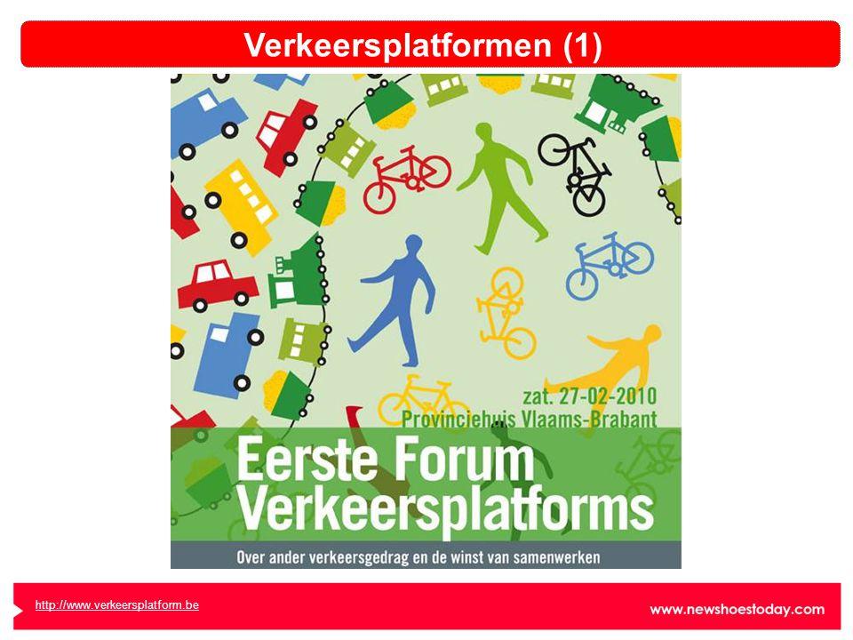 http://www.verkeersplatform.be Verkeersplatformen (1)