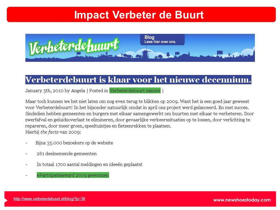 Impact Verbeter de Buurt http://www.verbeterdebuurt.nl/blog/ p=36