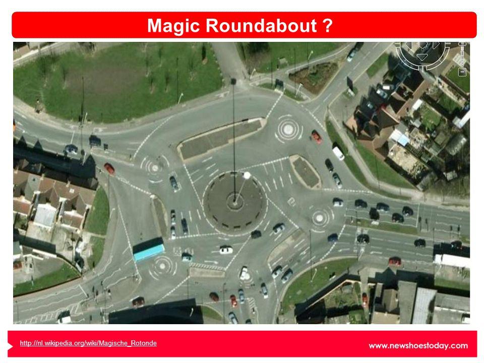 http://nl.wikipedia.org/wiki/Magische_Rotonde Magic Roundabout ?