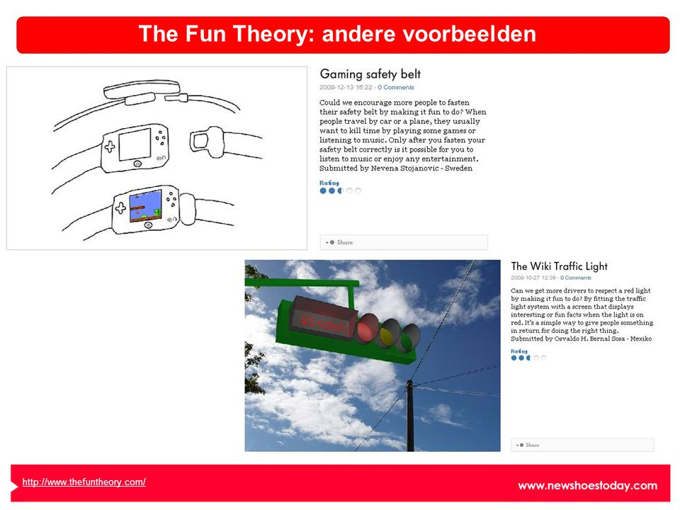 http://www.thefuntheory.com/ The Fun Theory: andere voorbeelden