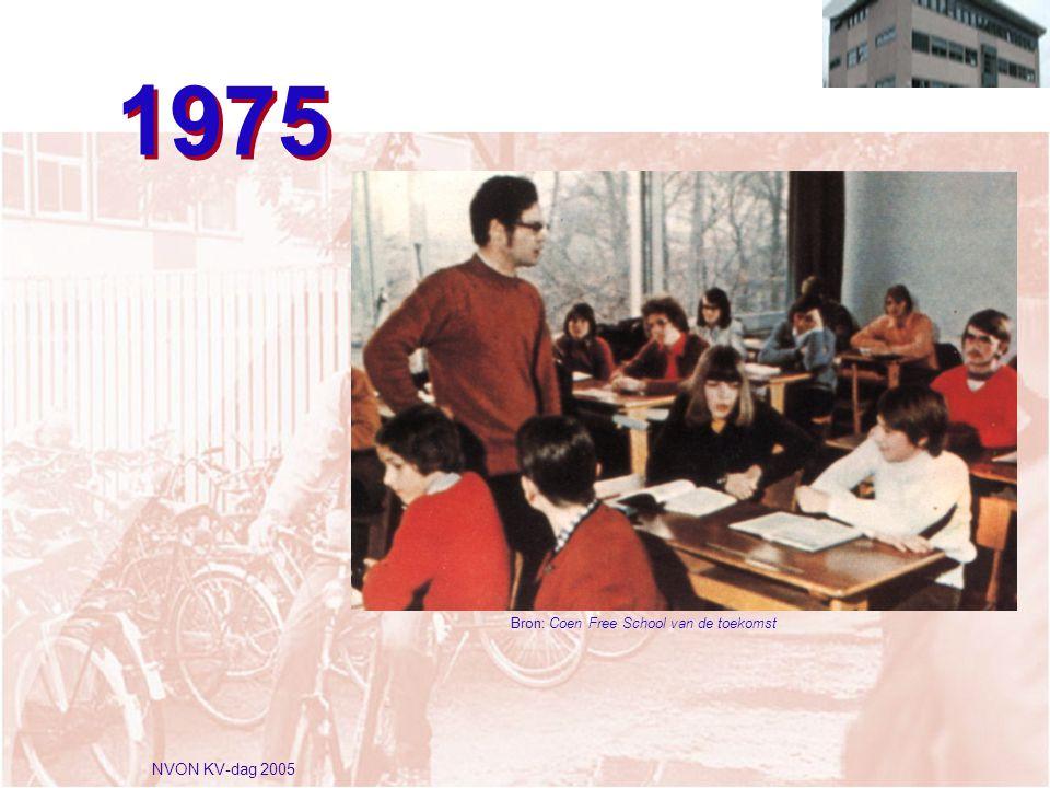 NVON KV-dag 2005 1975 Bron: Coen Free School van de toekomst
