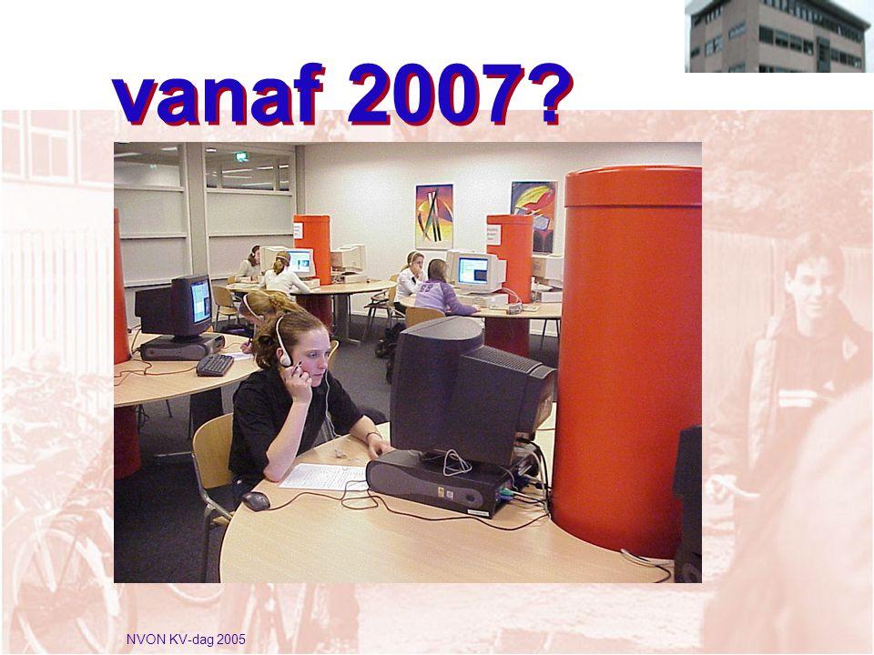 NVON KV-dag 2005 vanaf 2007