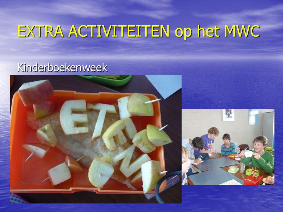 EXTRA ACTIVITEITEN op het MWC Kinderboekenweek