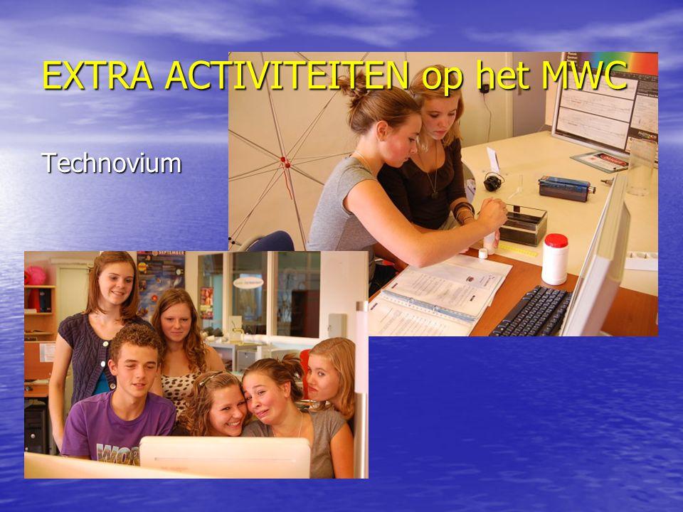EXTRA ACTIVITEITEN op het MWC Technovium