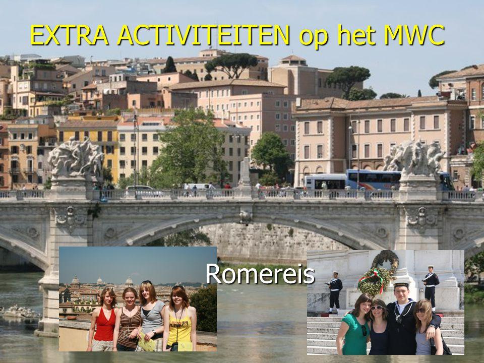 EXTRA ACTIVITEITEN op het MWC Romereis