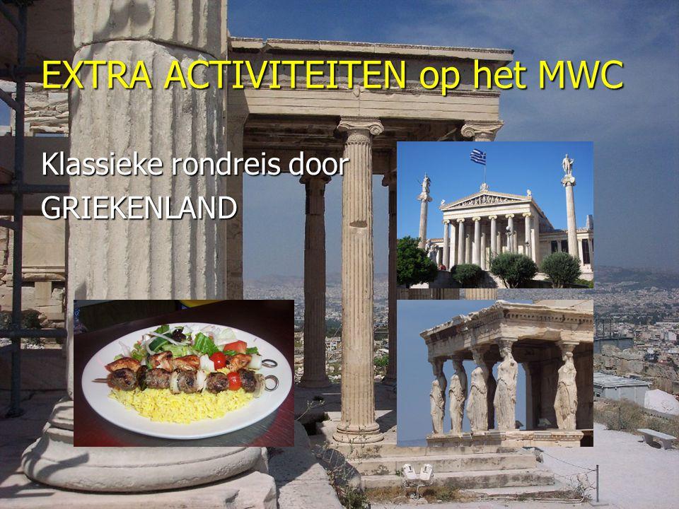EXTRA ACTIVITEITEN op het MWC Klassieke rondreis door GRIEKENLAND