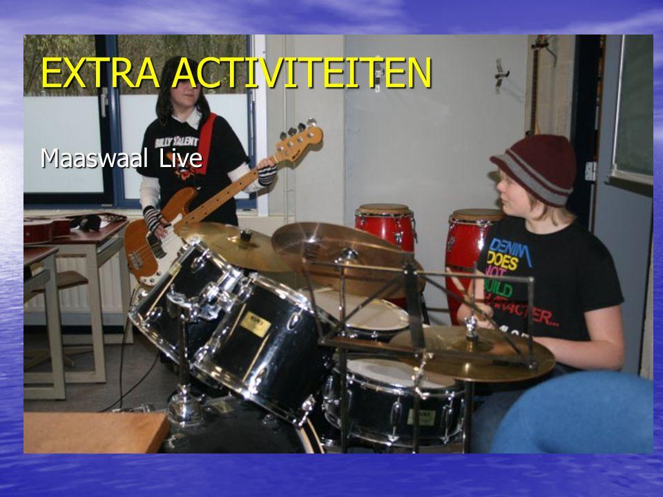 EXTRA ACTIVITEITEN Maaswaal Live