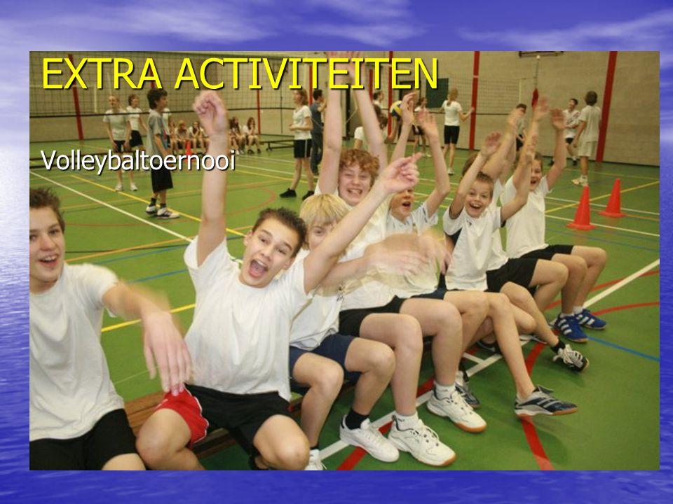EXTRA ACTIVITEITEN Volleybaltoernooi