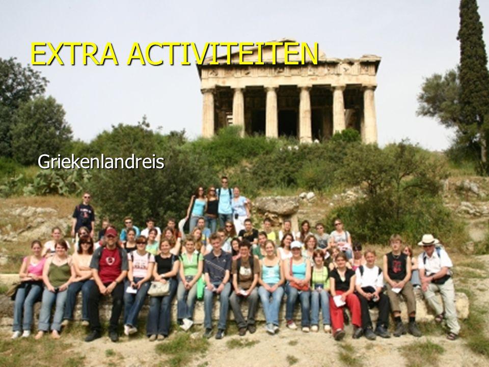 EXTRA ACTIVITEITEN Griekenlandreis