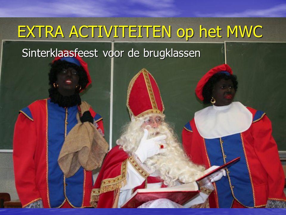 Sinterklaasfeest voor de brugklassen
