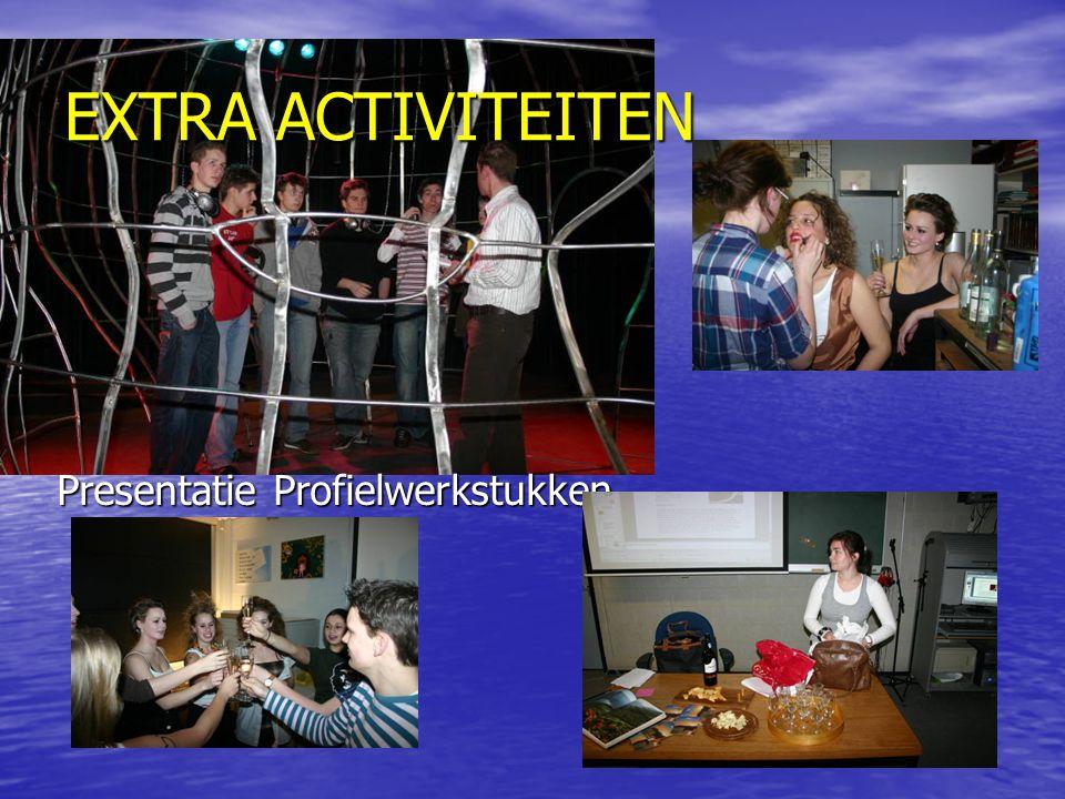 Presentatie Profielwerkstukken