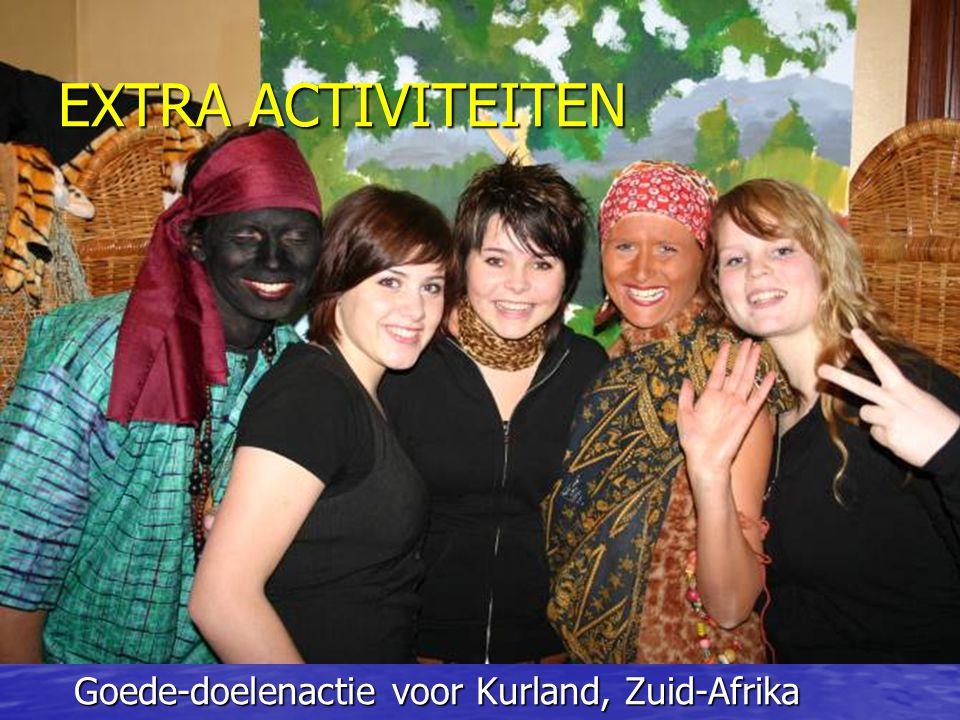 EXTRA ACTIVITEITEN Goede-doelenactie voor Kurland, Zuid-Afrika