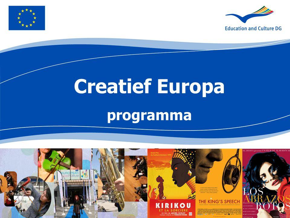 Creatief Europa programma