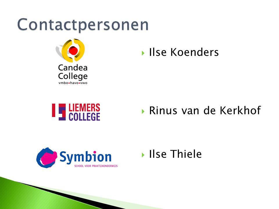  Ilse Koenders  Rinus van de Kerkhof  Ilse Thiele