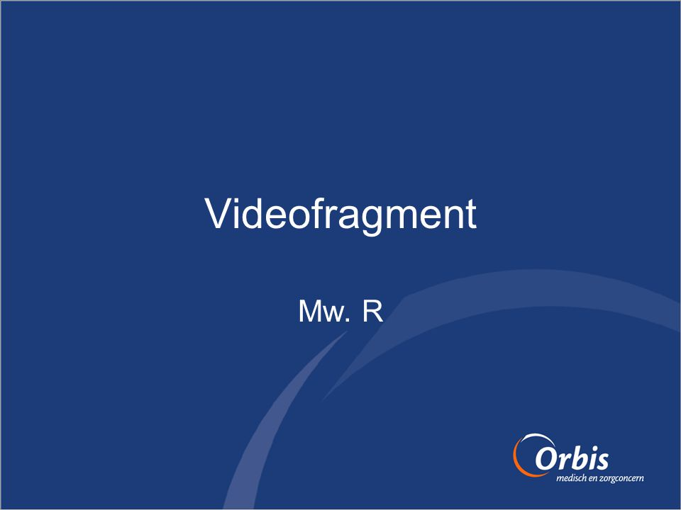 Videofragment Mw. R