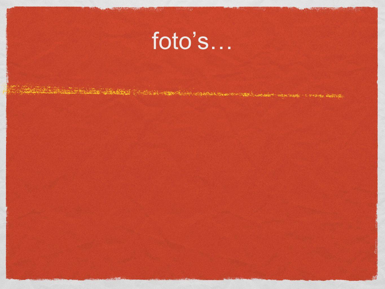 foto's…